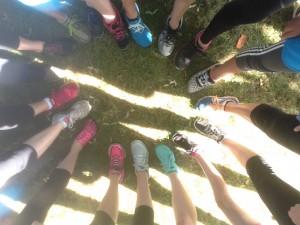 running club photo