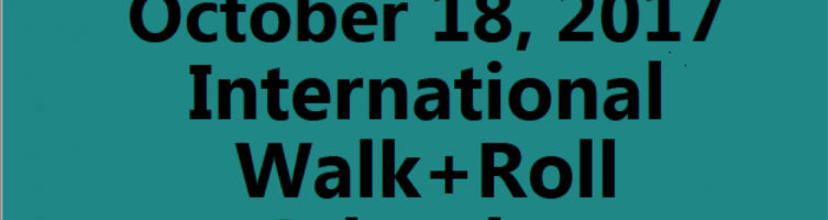 Walk and Roll to School Day